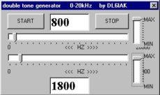Meranie SSB vysielača dvojtónovým generátorom