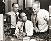 John Bardeen, Walter Houser Brattain, William Shockley