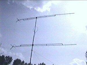Antenne 2x16el. F9FT op 2m