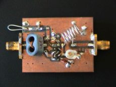 Vysokoodolný nízkošumový predzosilňovač na 144MHz S53WW
