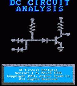 Logo programu DC Circuit Analysis