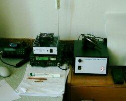 Zariadenia (TR-751E a home made zdroj + PA)