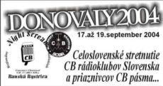 CB stretnutie Donovaly 2004