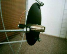 Kruhový ožarovač paraboly na 23cm