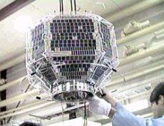 FO-29 satelit počas preletov na Európou 2020