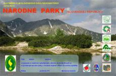 Diplom Národné parky Slovenskej republiky
