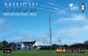 QSL lístok MW5W
