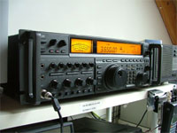 Špičkový TCVR IC-775DSP