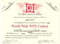 WPX diplom