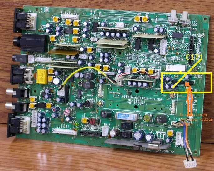 Kenwood TS450S-procesor