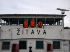 Vysielanie z lode Žitava na 630m II.