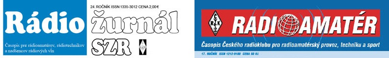Logo Rádioamatér - Rádiožurnál SZR
