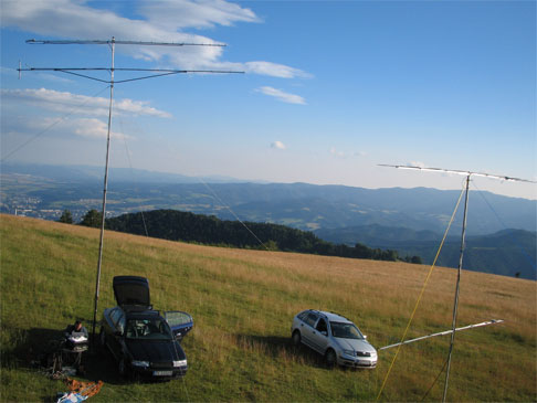 Carreras VHF cuesta abajo