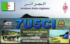 Slowakisch-algerische IOTA-Expedition zur Insel Grand Cavallo (AF-104) 7U5CI