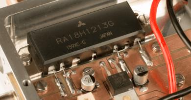 RA18H1213G zosilňovač na 23cm