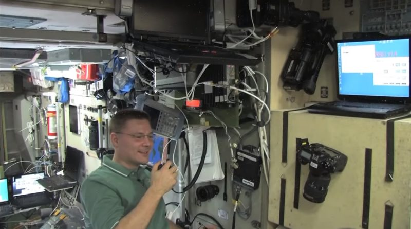 ISS video