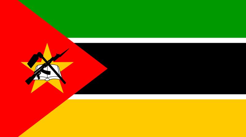 Mozambik - zástava