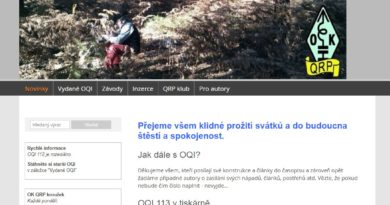 OK QRP info webové stránky