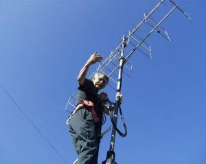 Laco OM5LD mit Antennen