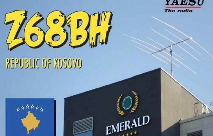 Z68BH QSL ticket