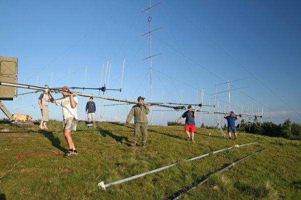 Felkészülés a VHF versenyre