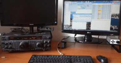 CQ WXP contest OM0A setup