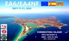 EA6 / EA4NF Balearen über LEO-Satelliten