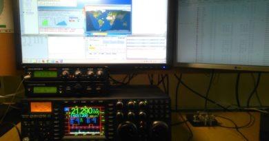 OM4Q contestové pracovisko s TEN-TEC ORION II, Station Master, micro KEYER II a 1MM logom