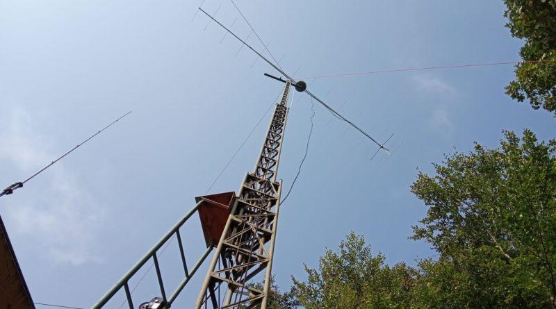 Antena VHF F9FT włączona 144 MHz