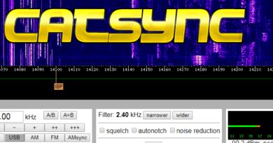 CATSync synchronizácia WebSDR