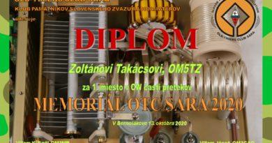 Diplom OM5TZ