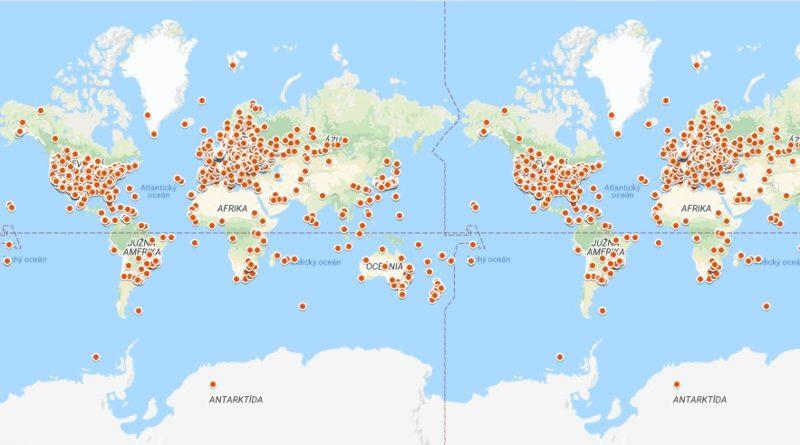 EME mapa
