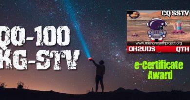 Mars on Earth Project podujatie na QO-100