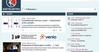 Svetelektro- nový web