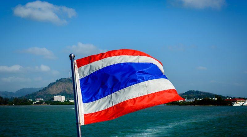 Thajská zástava