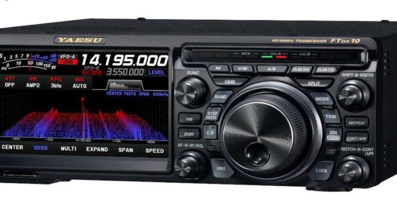 Yaesu FTDX10 SDR TCVR
