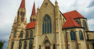 Katedrála na ostrove Svätá Helena