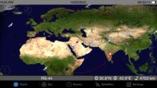 F4DXV – VU2LBW na RS-44 satelite