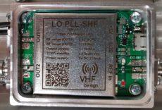 SR7VC jelzőfény bekapcsolva 10 GHz