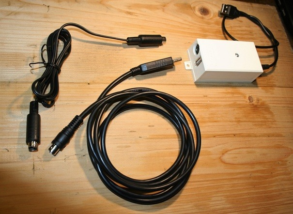 Krabička s potrebnou kabelážou