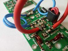 Усилитель включен 144 МГц с MRF9180 / MRF186