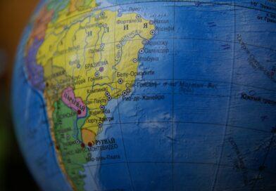 Mapa Južnej Ameriky